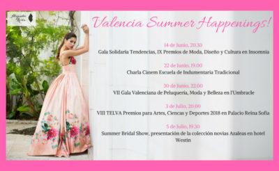 Este Verano 2018, Atelier de Alejandro Resta asiste y participa en diferentes eventos de moda
